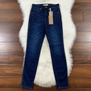 """Madewell Thermolite 10"""" High Rise Skinny Jeans"""